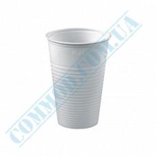 Plastic PP cups   200ml   white   100 pieces per pack