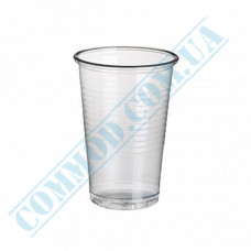 Plastic PP cups   200ml   transparent   Huhtamaki   100 pieces per pack