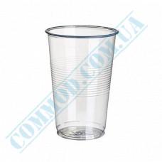 Plastic PP cups   300ml   transparent   50 pieces per pack
