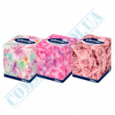 Cosmetic wipes 2-ply 21.0*21.0cm paper in box 100 pieces per pack Kleenex Collection