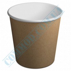 Paper cups containers 5000ml V170 Kraft 50 pieces
