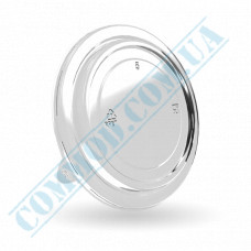 Plastic lids PS | for containers 4000ml | high | transparent | 50 pieces per pack