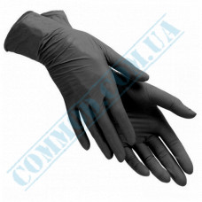 Nitrile gloves without powder weight - 7.5g size - L, 100 pieces per package