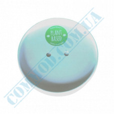 White paper lids | Ǿ=116mm | for containers 628ml | Huhtamaki | 25 pieces per pack