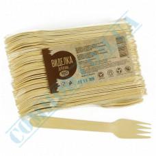 Wooden forks | 160mm | (Ukraine) | 100 pieces per pack