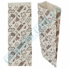 Paper sachets 270*100*40mm for Shawarma 40g/m2, 1000 pieces per pack