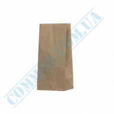 Kraft paper bags with rectangular bottom | 90*60*200mm | 50g/m2 | 700 pieces per package