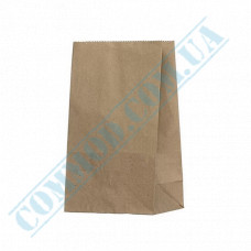 Kraft paper bags with rectangular bottom | 150*90*240mm | 70g/m2 | 500 pieces per pack