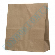Kraft paper bags with rectangular bottom | 320*150*380mm | 70g/m2 | 100 pieces per pack