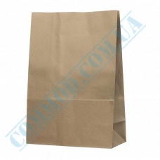 Kraft paper bags with rectangular bottom | 260*140*390mm | 90g/m2 | 350 pieces per package