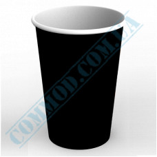 Paper containers | 1400ml | Ǿ=120mm h=180mm | black | without lid | for hot and cold food | 100 pieces per pack