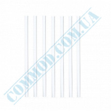 Martini straws   plastic   not flexible   Ǿ=5mm L=125mm   Crystal   200 pieces per package