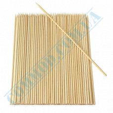 Bamboo skewers for barbecue 25cm   Ǿ=5mm   100 pieces per pack
